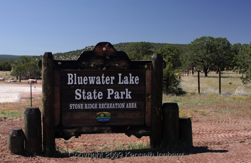 Bluewater Lake Canyonside Campground