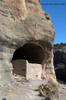Gila Cliff Dwellings overview