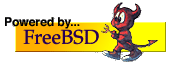 Powered by FreeBSD